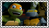 Michelangelo, Stamp by HarukotheHedgehog