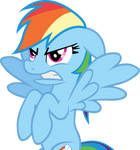 Rainbow Dash Get Out