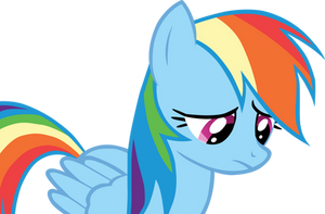 Sad Rainbow Dash is sad by DabuXian