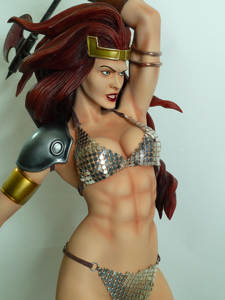 Red Sonja custom sideshow 1/5 by Enelaur