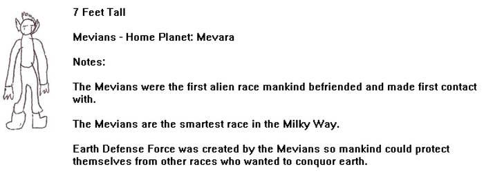 Alien Card 5 Mevian