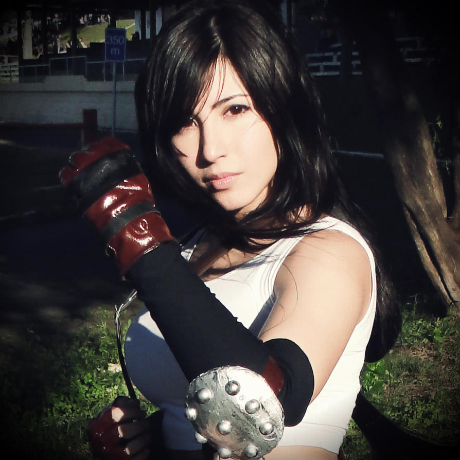 Tifa Lockhart | No...I can't get timid now. by daniellevedo