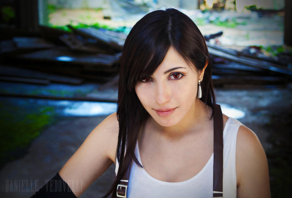 Tifa Lockhart | You can have my light. by daniellevedo