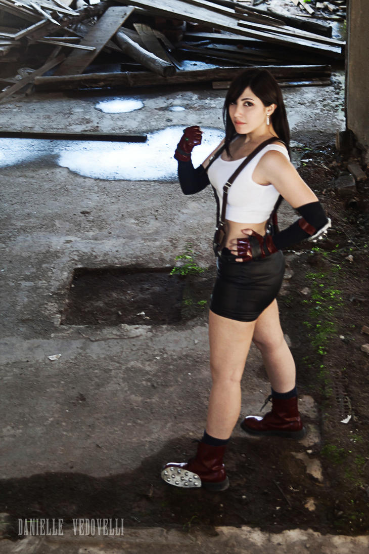 Tifa Lockhart | I won't hold back !! by daniellevedo