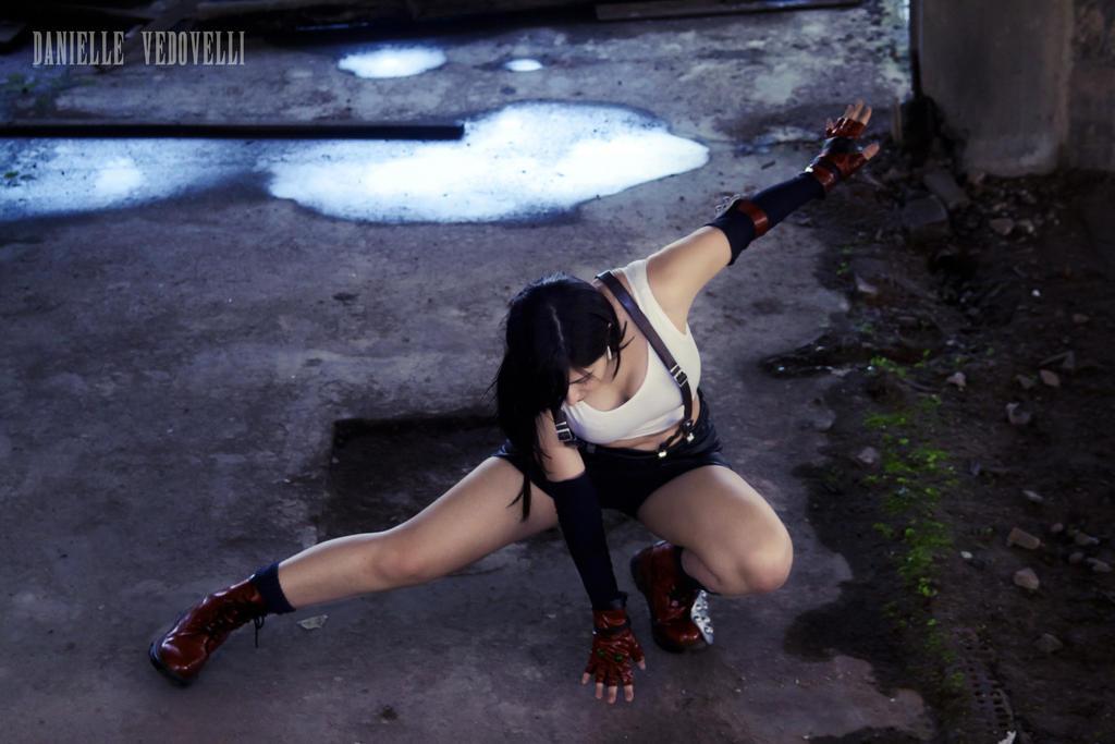 Tifa Lockhart | Meteor Strike! by daniellevedo