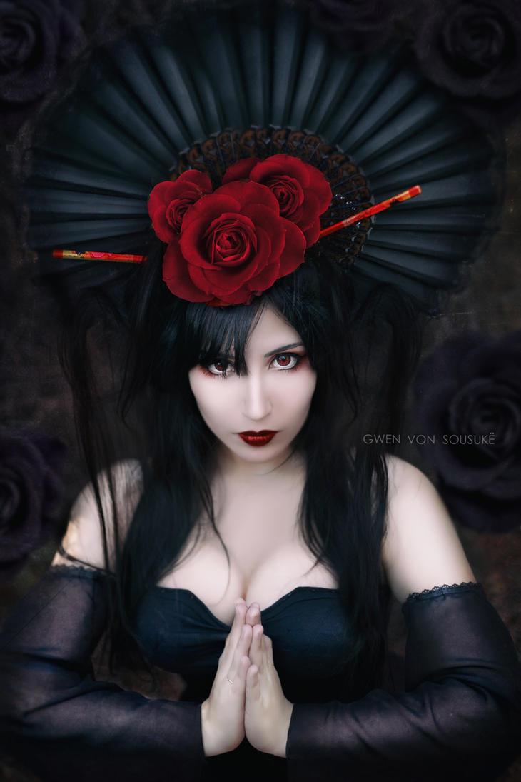 Moonlight Geisha by daniellevedo