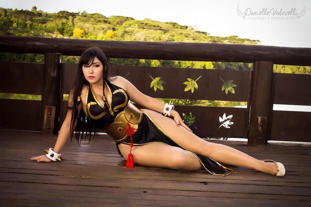 Chun Li - Battle Costume   Street Fighter V (SFV) by daniellevedo