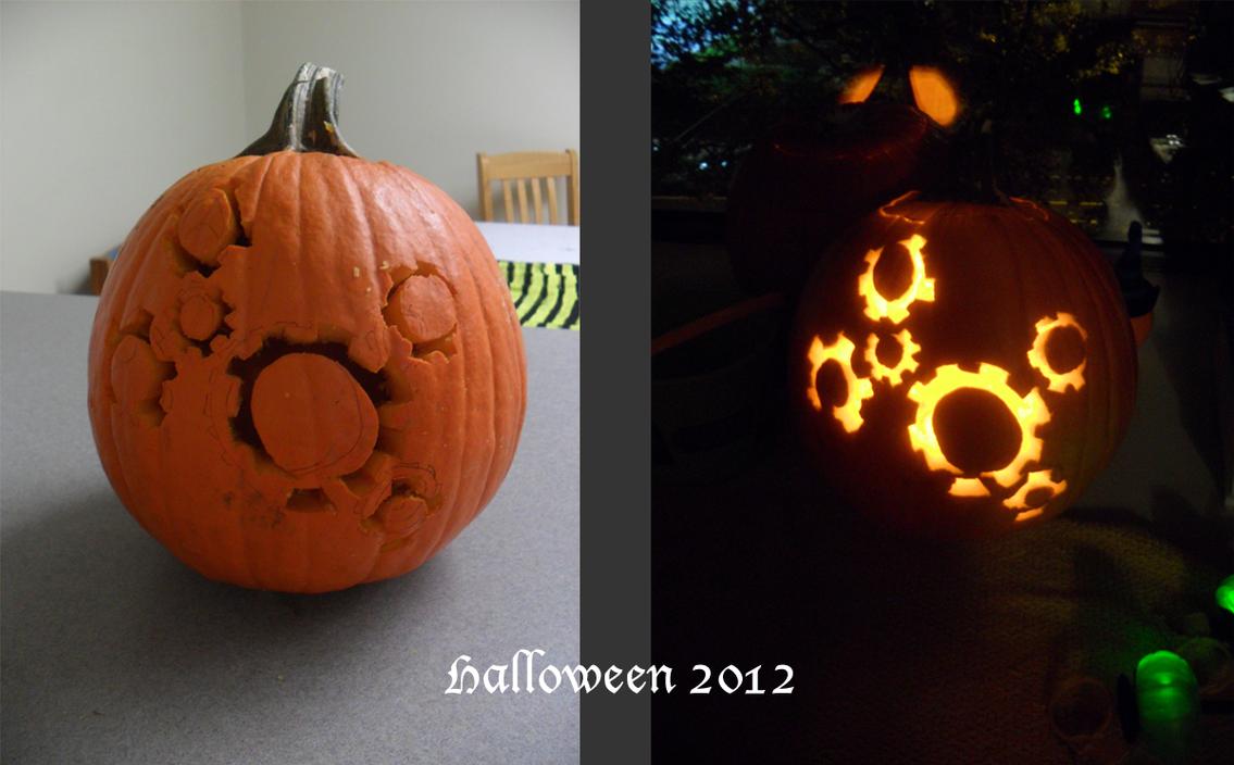 Halloween Fred the Jack-o-Lantern 2012 by ay4u