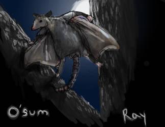 O'Sum Ray by ay4u