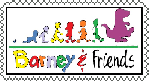Barney And Friends Stamp by PetitAnge2