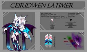 Reference :: Ceiridwen Latimer by Amaris-Tollkirsche
