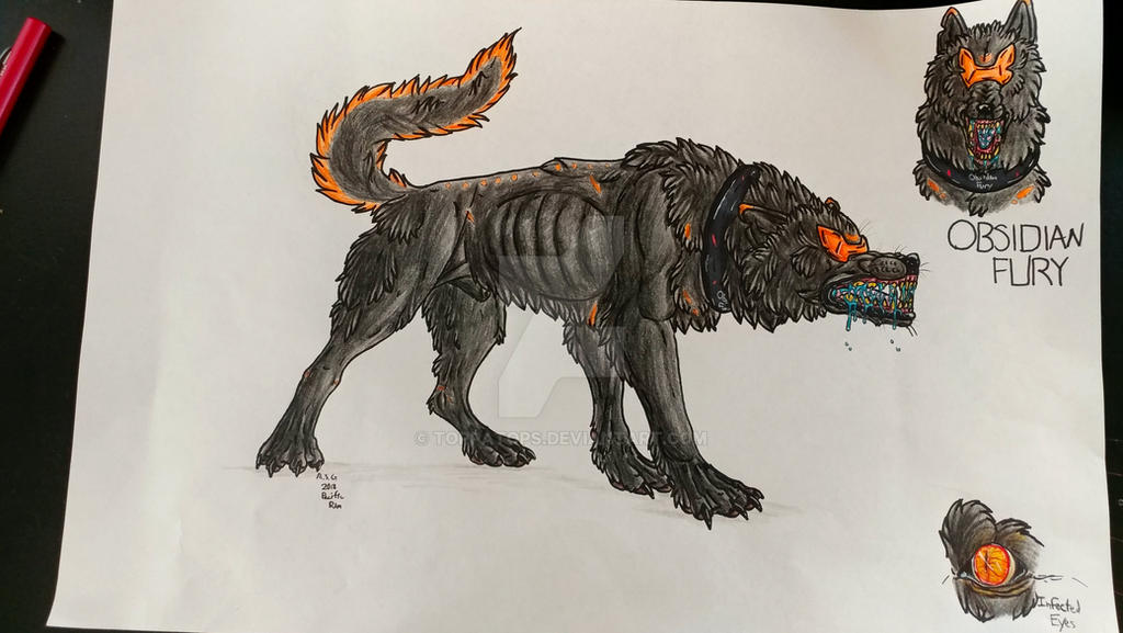 Obsidian Fury By Toppatops On Deviantart