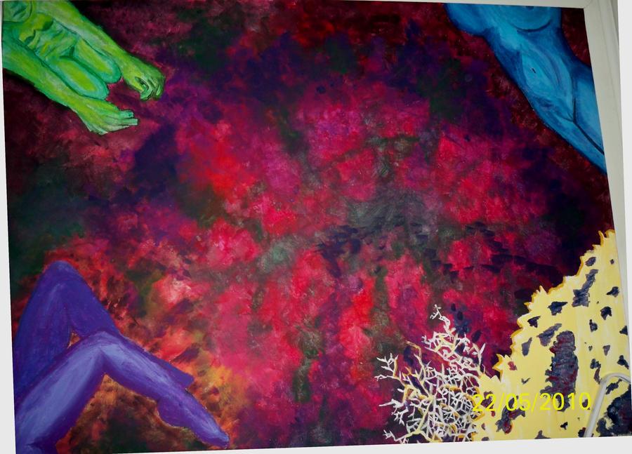 Colorful women by RejectedSoul999K