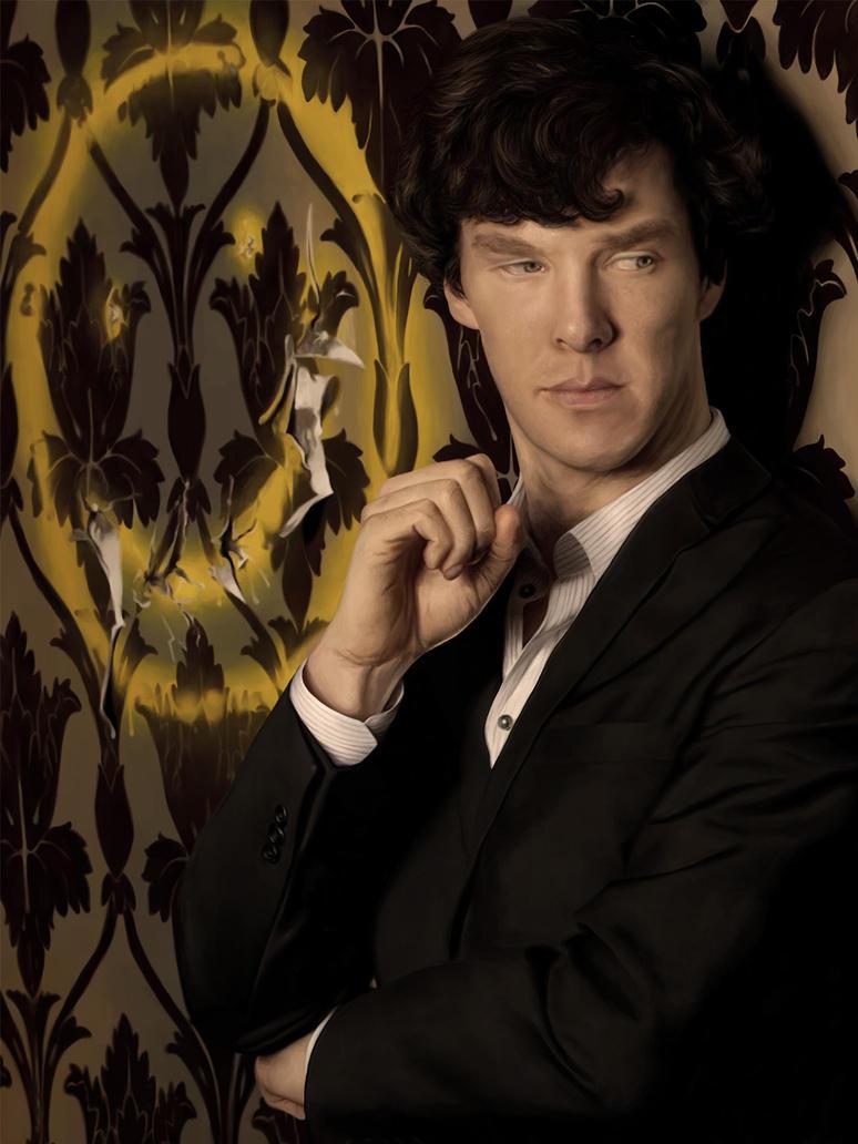 Sherlock by Elluwah