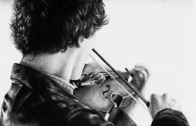 The Violin by Elluwah