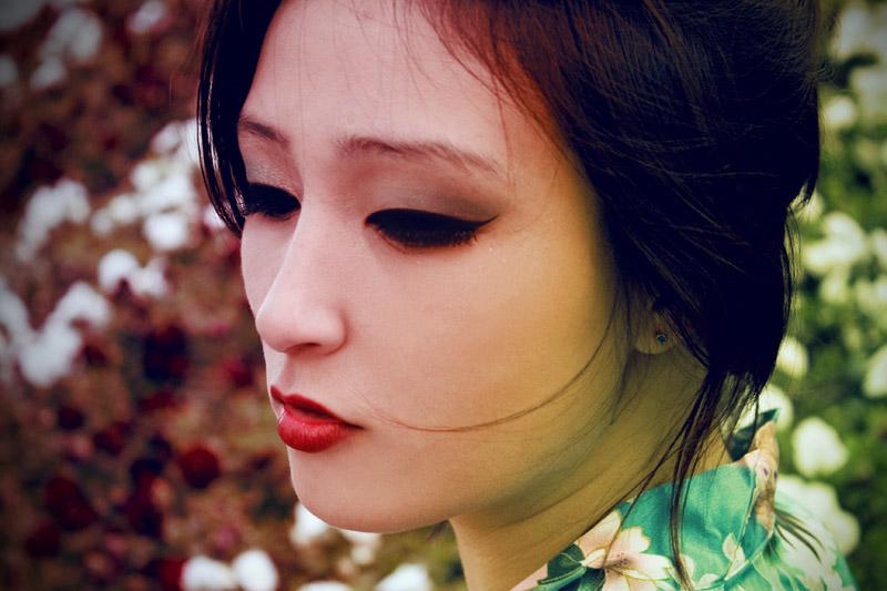 Chinese Geisha II by Jacinta-Lee