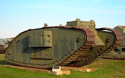 World War I tank by flatsix911