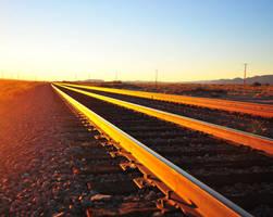 Sunset Tracks by flatsix911