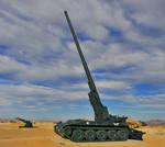 M107 175mm Self-propelled Artillery