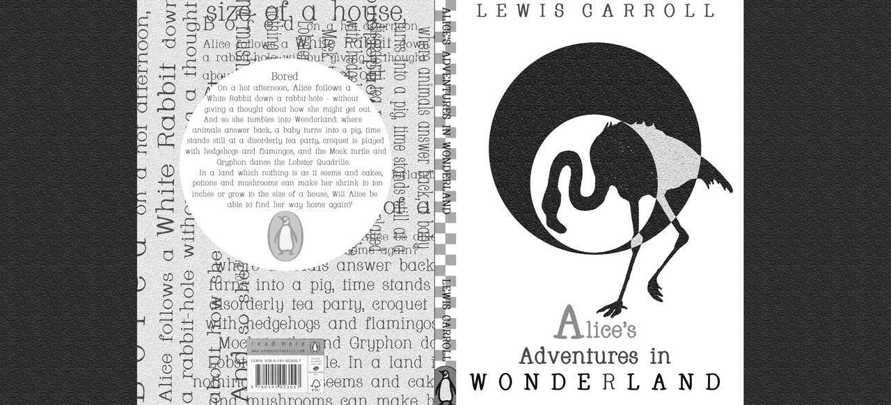 Alice In Wonderland Book Cover Designs : Book cover design alice in wonderland by moon lilly on