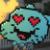 Gumball Heart Emoji Face