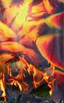 Implosion - burning