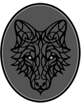 Organic Wolf [available as stitched badge!]