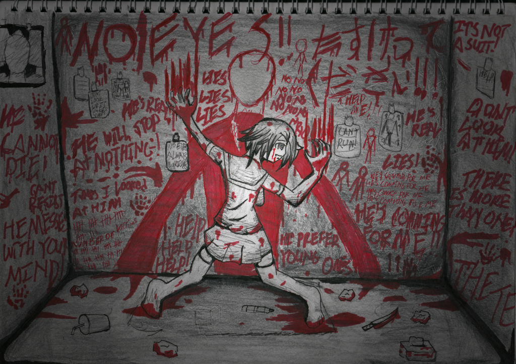 SLENDER IN YOUR MADNESS by ChromeFlames