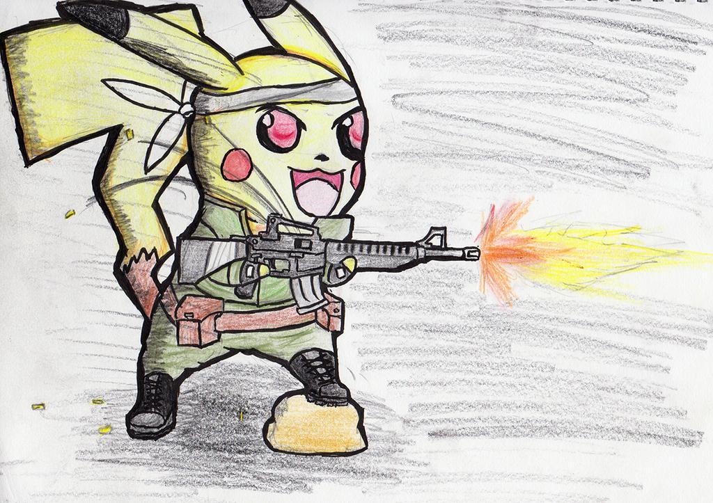 Pika M16 by ChromeFlames