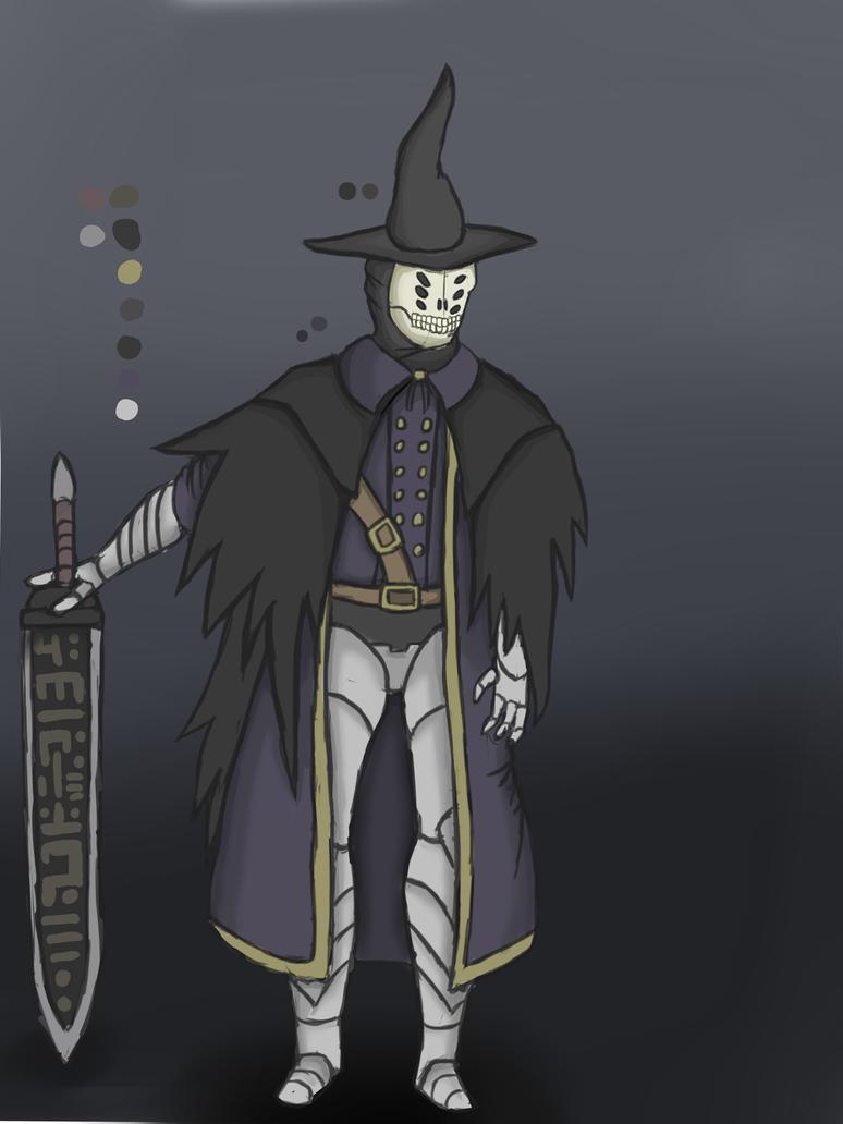 My Bloodborne hunter by ChromeFlames