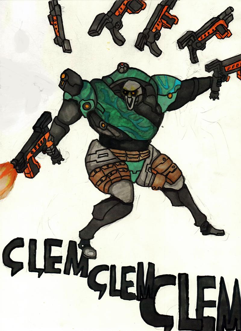 CLEM CLEM CLEM by ChromeFlames