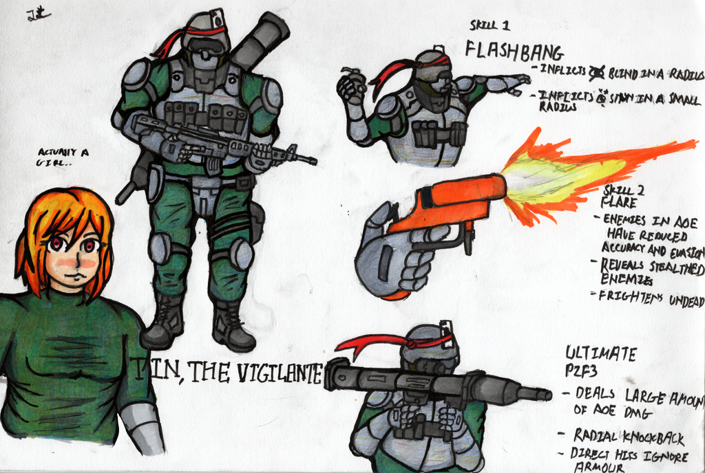 Tin, the Vigilante by ChromeFlames