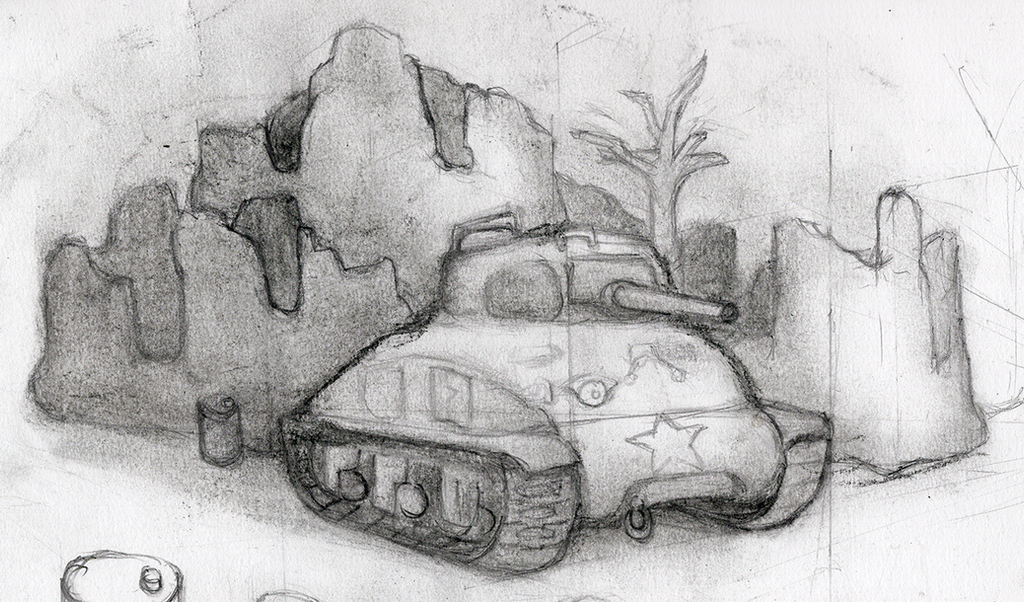 study on a tank by ChromeFlames
