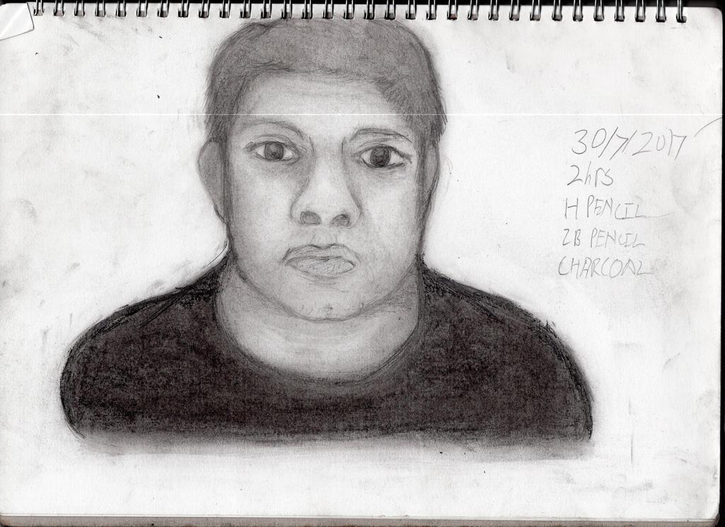 Self Portrait by ChromeFlames