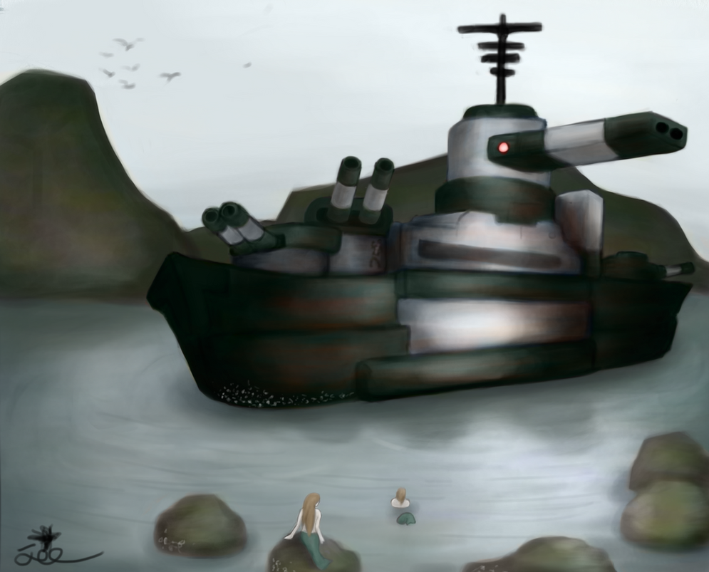 Toot Toot 1: Boats... with guns... GUNBOATS! by ChromeFlames