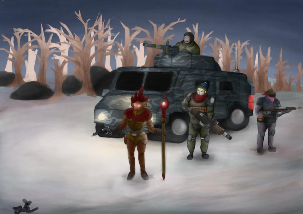 Snow patrol by ChromeFlames