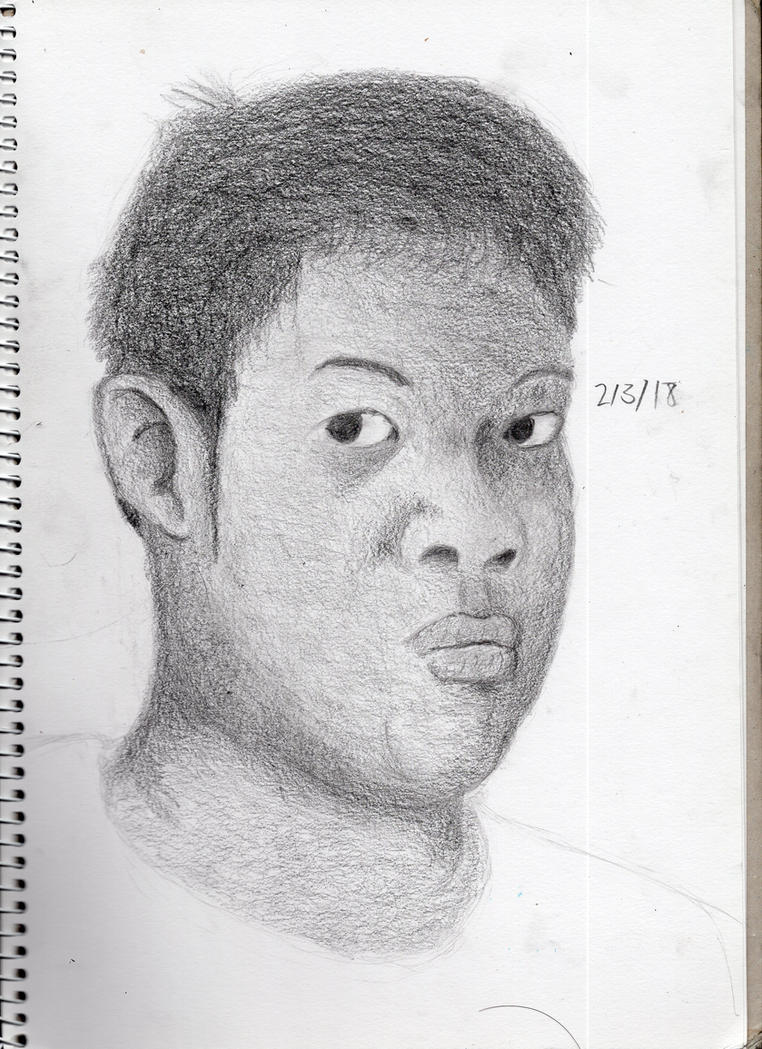 Latest self portrait by ChromeFlames