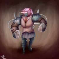 Cyber Buffsuki by ChromeFlames