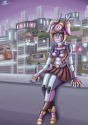 City doll by ChromeFlames