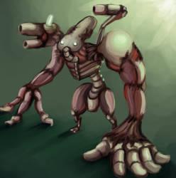 Kregarian Abomination by ChromeFlames