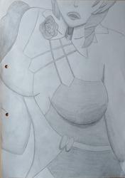 3-hour Sketch Fanart: Alisa (Tekken 7)