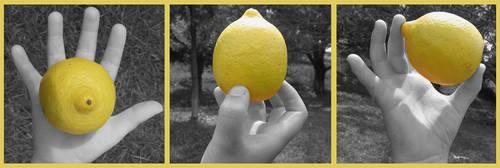 Lemon Hand by Lluvioso