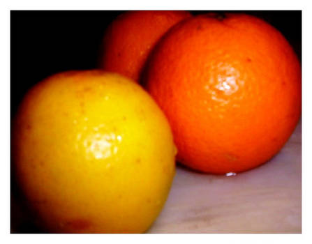One lemon for two oranges by C