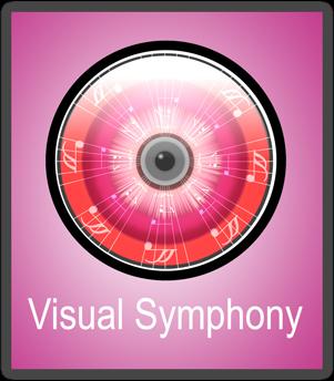 visual symphony logo by janmik553