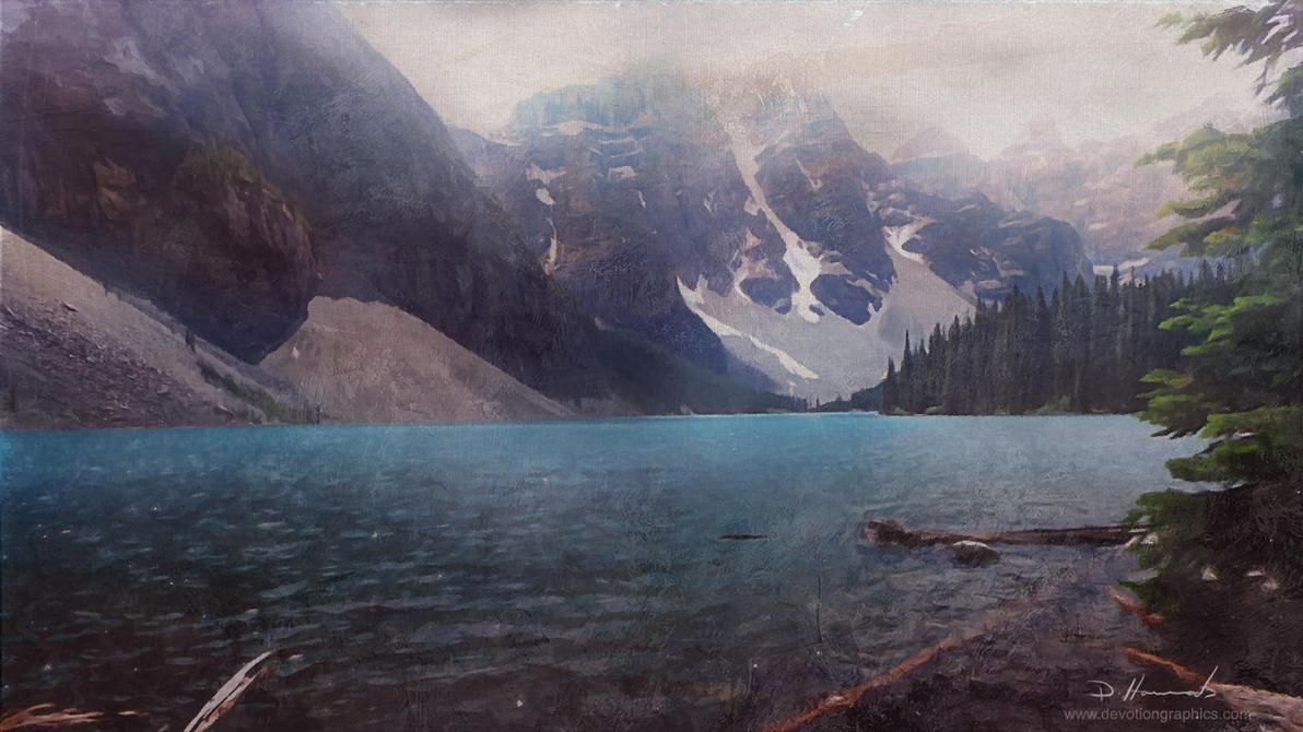 Vintage Landscape by devotion-graphics