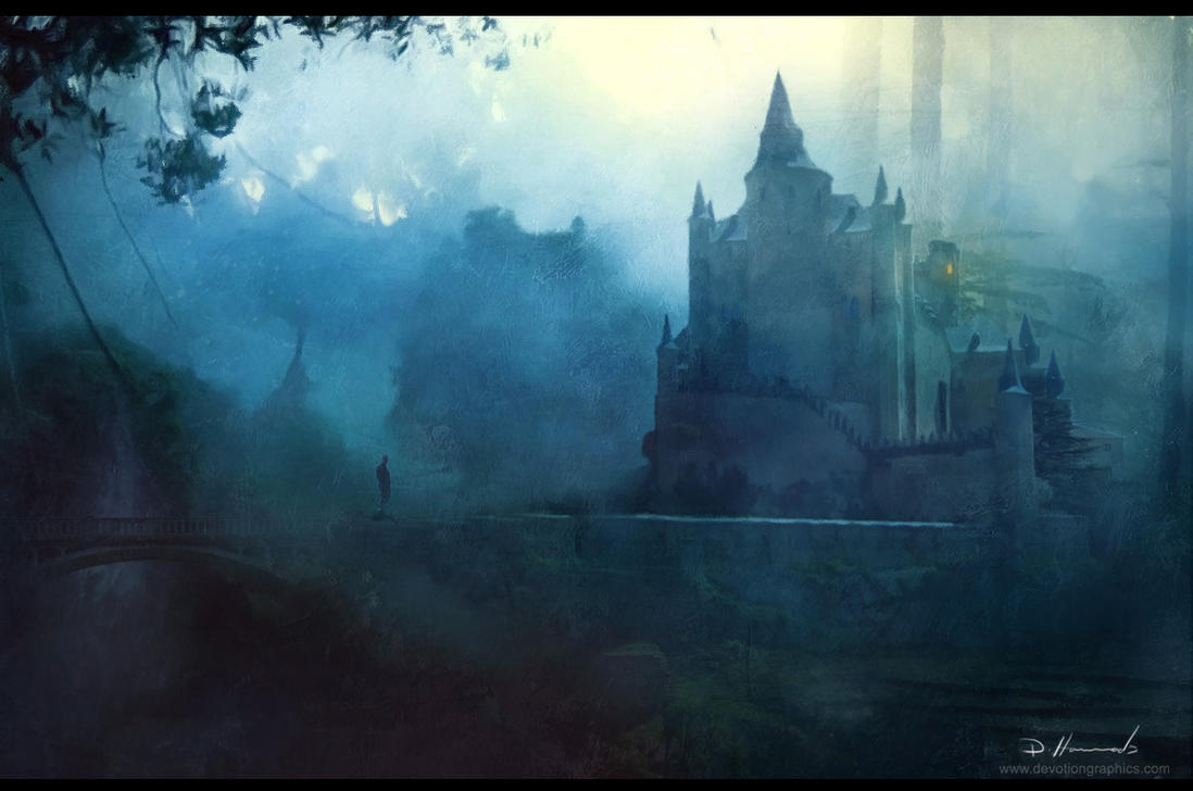 Castle in the Woods by devotion-graphics