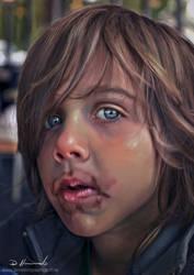 Young Boy Portrait commission