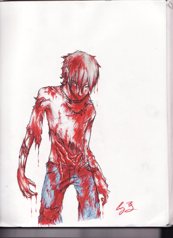 Anime Zombie Characters : Zombie boy by melikeschocolate on deviantart