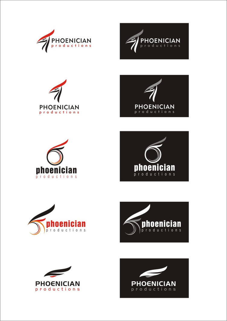Phoenician Logo by dr3am-arts
