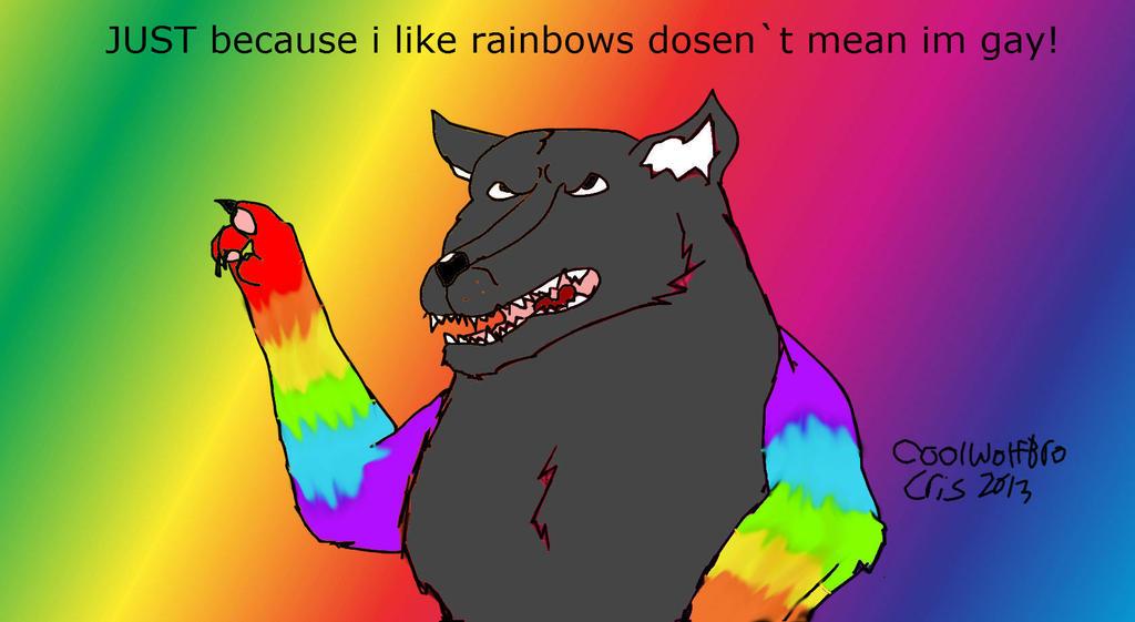 Rainbows Not Gay 26